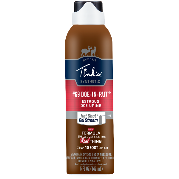 Tink's® #69 Doe-In-Rut - Hot Shot® Gel Stream Synthetic 5oz.