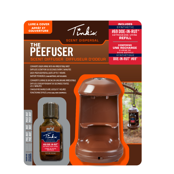 Tink's® Synthetic #69 Doe-In-Rut PeeFuser Scent Diffuser