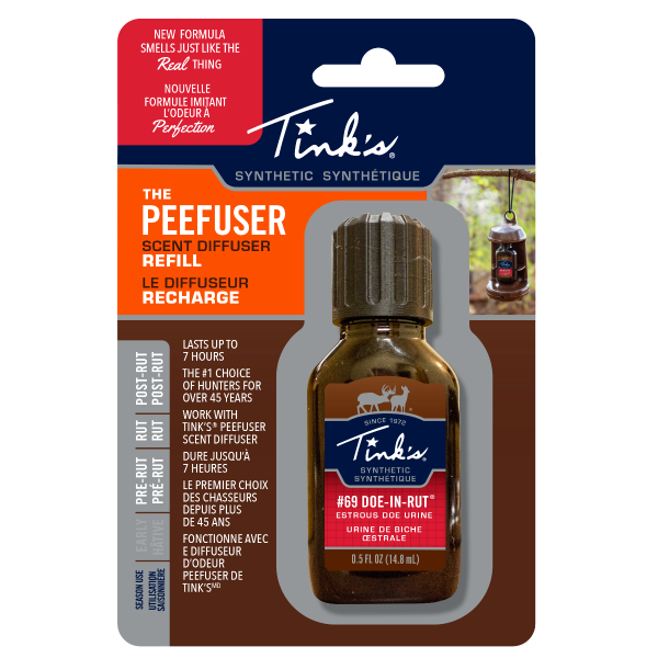 Tink's® Synthetic #69 Doe-In-Rut PeeFuser Scent Diffuser Refill