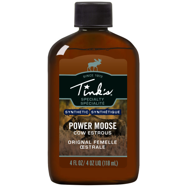 Tink's® Power Moose Plastic Bottle - 4oz.