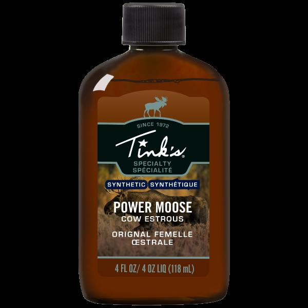 Tink's® Power Moose Plastic Bottle - 4oz.