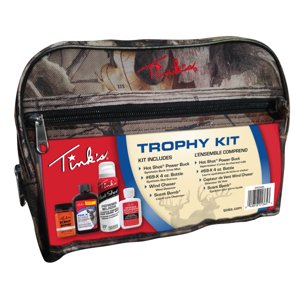 TINK'S – Trophy Kit Deluxe Combo w/Camo Bag